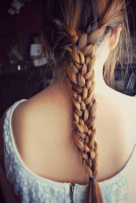 how to do bigbraids big hair friday triple braid hair romance