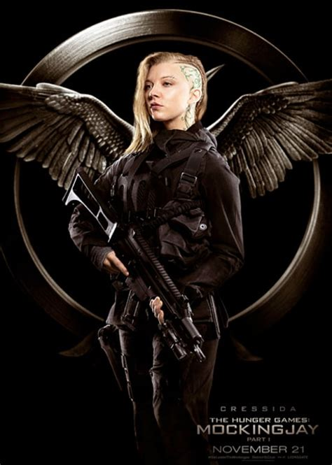 mockingjay natalie dormer the hunger mockingjay part 1 meet the new