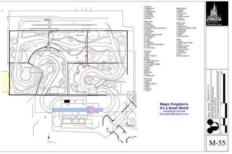 amusement park floor plan 18 best disney blueprints layouts art works images on
