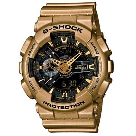 G Shock Ga 400 Rosegold Black Rubber Autolight On brand new casio g shock ga110gd 9b mens gold xl digi