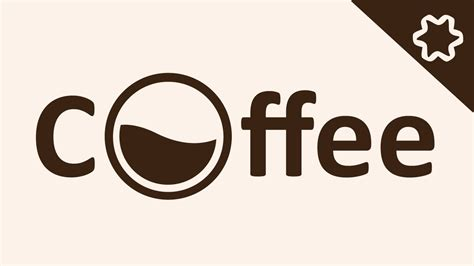 design font ai creating coffee logo design combine text font and
