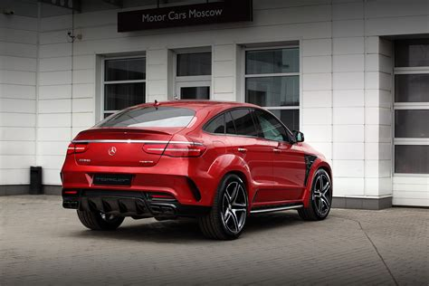 mercedes benz gle  coupe inferno red topcar