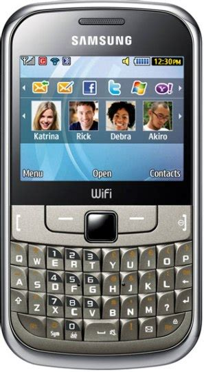 Hp Samsung Qwerty Dual Sim samsung chat 322 and 335 launched