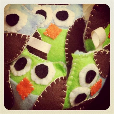 Felt Baby Shower Favors by Baby Shower Favors Felt Owl Keychains Ideas
