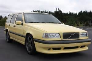 Volvo 850 T5r For Sale No Reserve Yellow 1995 Volvo 850 T5 R Bring A Trailer