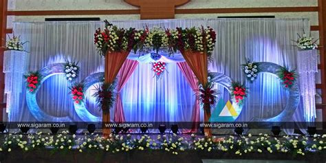 images decorations reception and wedding stage decoration at shri janani thirumana maligai puducherry 171 sigaram