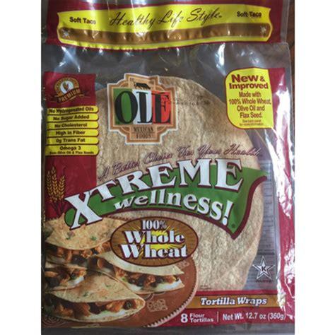 whole grain 100 calorie wrap top 50 most popular wraps