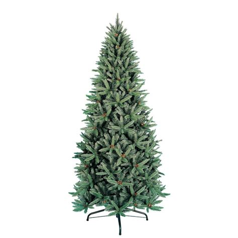 9 ft fir unlit artificial christmas tree lowe s 188