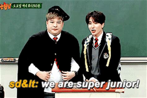 drakorindo knowing brother suju shindong leeteuk on knowing brother k pop amino