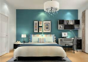 teal bedroom ideas with many colors combination