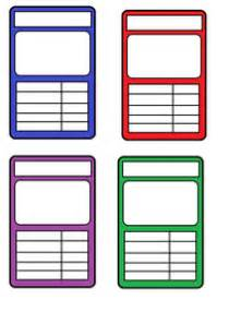 top trumps card templates by katiebell1986 uk teaching
