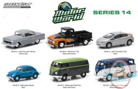 Greenlight Volkswagen Samba 164 1 64 motor world series 14 set of 6 greenlight of
