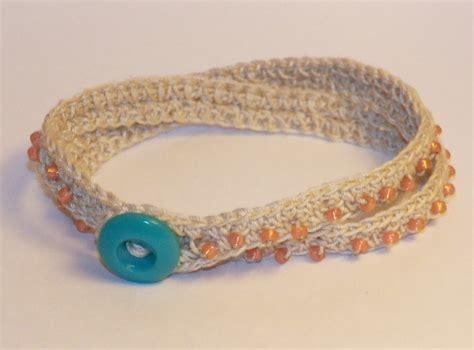 don t eat the paste crochet beaded wrap bracelet pattern