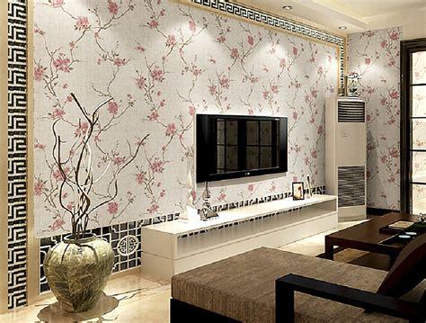 Wallpaper Dinding 45 gambar wallpaper dinding ruang tamu sederhana wallpaper ruang tamu interiors