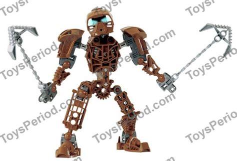 Original Lego Bionicle 8603 Toa Nokama 7 Years lego 8604 toa onewa set parts inventory and