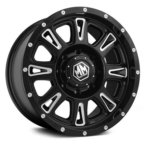 Wheels Hammer wheels hammer 8050 black wheels 4wheelonline