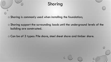 Sleeper Shoring by Mat Foundation Presentation Abhijatrik 28c