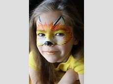 50+ Awesome Face Painting Ideas For Kids Halloween Makeup Batgirl