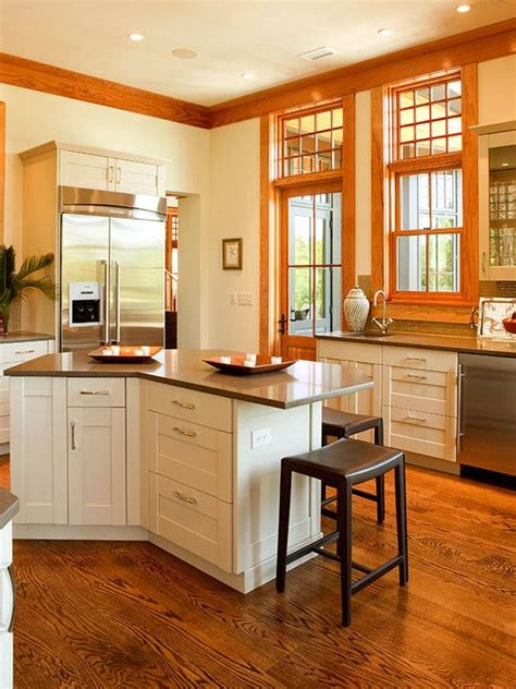 White Kitchen Cabinets With Oak Trim by Oak Trim White Cabinets Paint The Trim Or Leave It