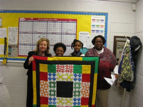 Black History Quilts by Quot Freedom Quilt Quot For School Black History Month Children