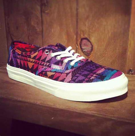 aztec pattern vans shoes shoes vans aztec wheretoget