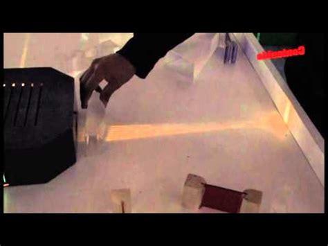 ilusiones opticas refraccion rutas de la cultura museo de la luz youtube