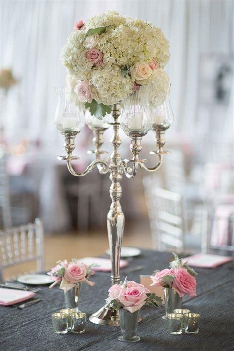 ivory candelabra centerpieces candelabra centerpieces ivory and blush wedding flowers wedding design the graceful