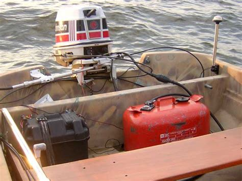 boat transom repair ottawa 59 johnson outboard can i use steering wheel page 1