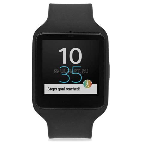 Sony Smartwatch Sw3 Sony Smartwatch 3 Sw3 Black Swr50