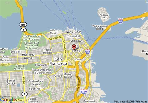 hotels in san francisco map hotel nikko san francisco san francisco deals see hotel