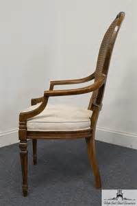 Drexel Heritage Dining Chairs High End Used Furniture Drexel Heritage Regency Style Back Dining Arm Chair 192 832