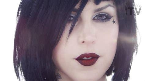 kat von d hair 2014 introducing the kat von d innerstellar eyeshadow palette