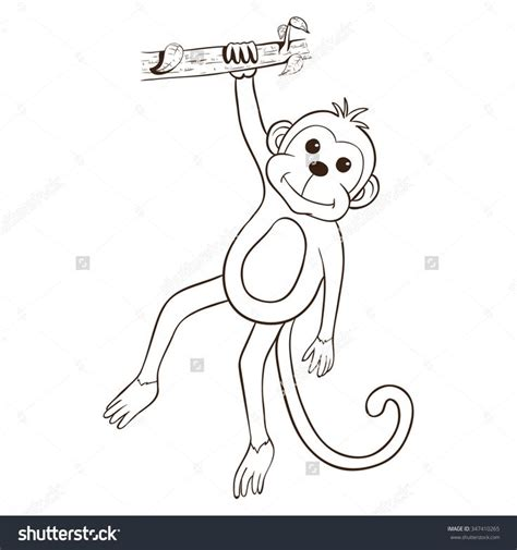 Outline Of A Monkey by 18 Best Monkey Outline Images On Monkey Tattoos Monkey And About