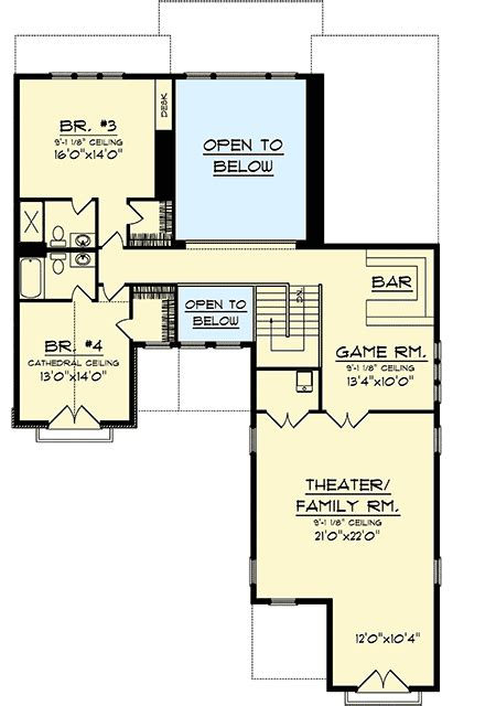 game room floor plans ideas game room and theater room 89810ah architectural