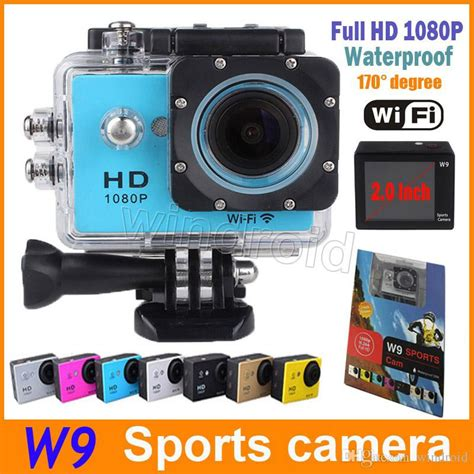 Sports Hd 1080p Waterproof 30m waterproof sports w9 hd diving wifi