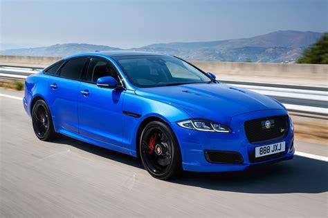 Jaguar Blue new jaguar xjr 575 2017 review auto express