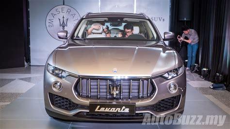 maserati malaysia 2017 maserati levante launched in malaysia 3 0l diesel