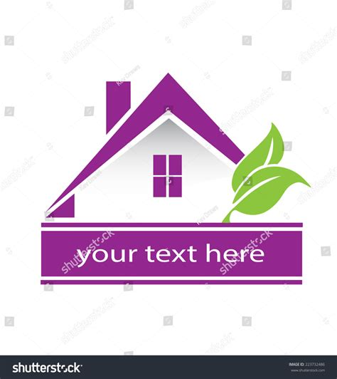 house logo design vector vector house building abstract real estate countryside