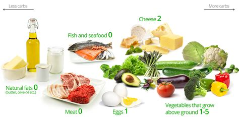 carbohydrates eggs low carb diet foods fats butter olive