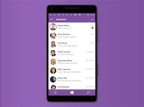 mobile viber viber for windows 10 mobile by matej maltar dribbble