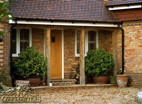offene veranda welcoming oak porch with uncomplicated design 5424