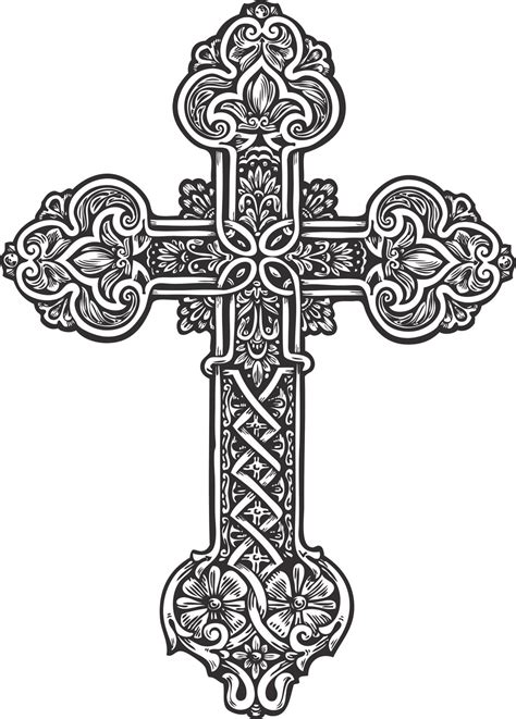 ornate cross tattoos these cross tattoos will give you serious goals