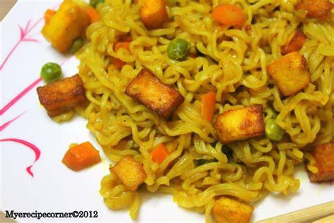 mye s kitchen paneer maggi noodles recipe