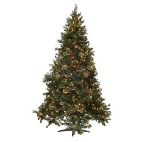 martha stewart alexander 75 ft christmas tree reviews martha stewart living 7 5 ft pine set artificial tree with pinecones