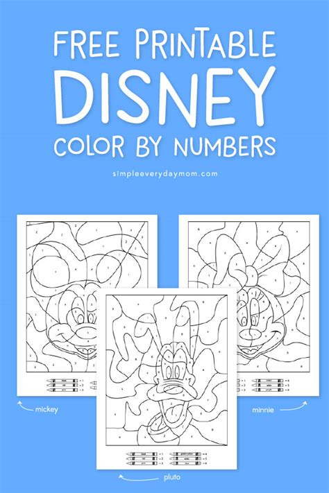 coloring page lion disney color by number printable pages coloring pages