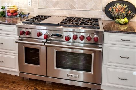 Luxurious Gas Oven luxurious functional greenwood kitchen remodel