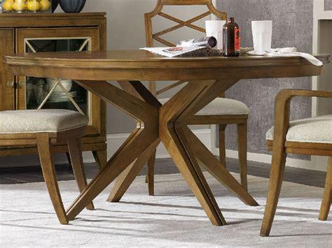 52 dining table furniture retropolitan caramel 52 wide