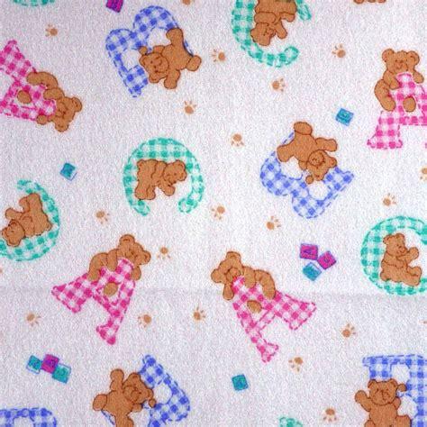 teddy bear upholstery knit back baby print fashion fabric teddy bear baby