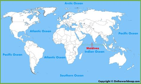 where is maldives located on the world map maldives location on the world map