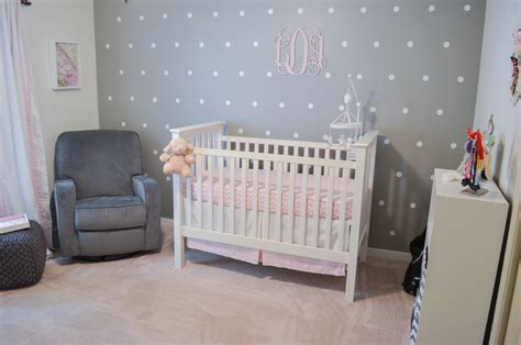 pink and grey nursery l pink grey and white nursery pink gray nursery by lauren